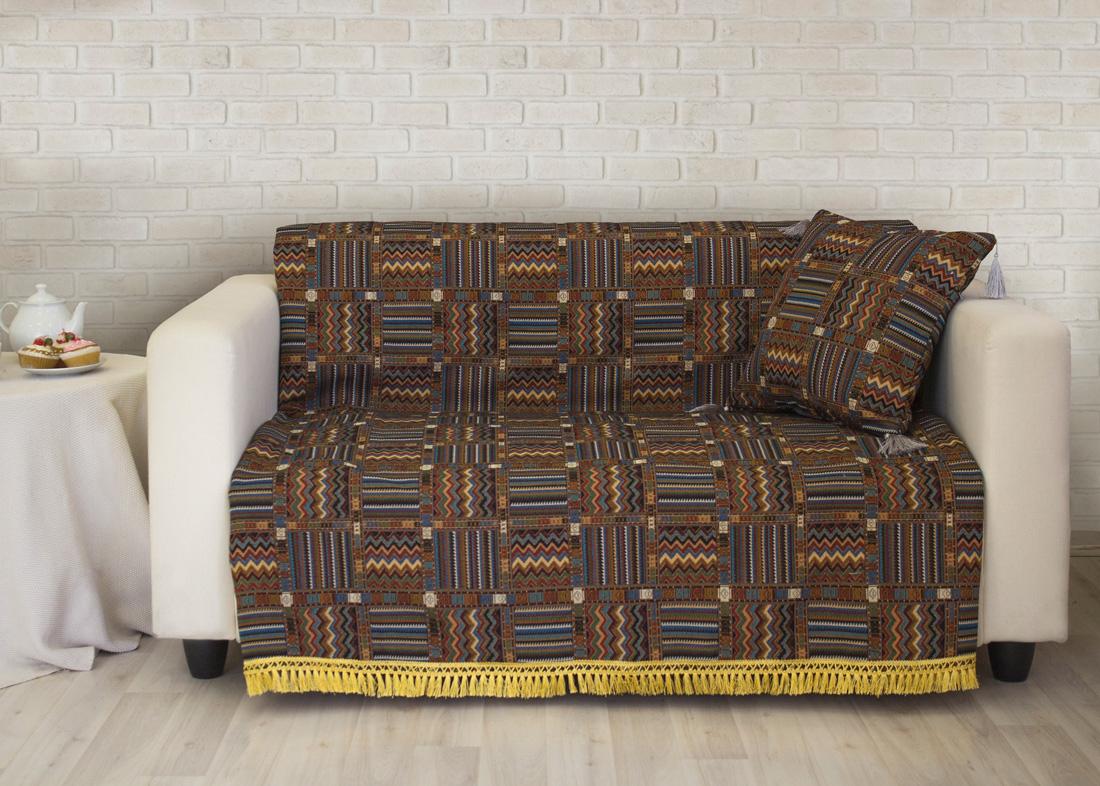 где купить Пледы и покрывала Les Gobelins Накидка на диван Mexique (160х200 см) по лучшей цене