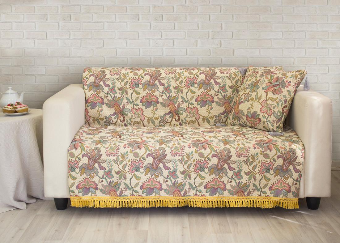 где купить Пледы и покрывала Les Gobelins Накидка на диван Loche (150х200 см) по лучшей цене