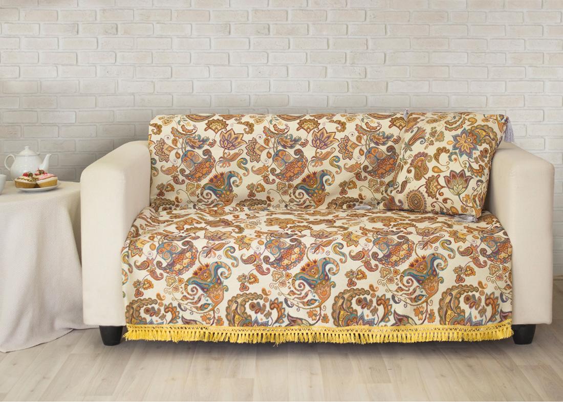 Пледы и покрывала Les Gobelins Накидка на диван Ete Indien (160х230 см) покрывало les gobelins накидка на диван labyrinthe 160х230 см