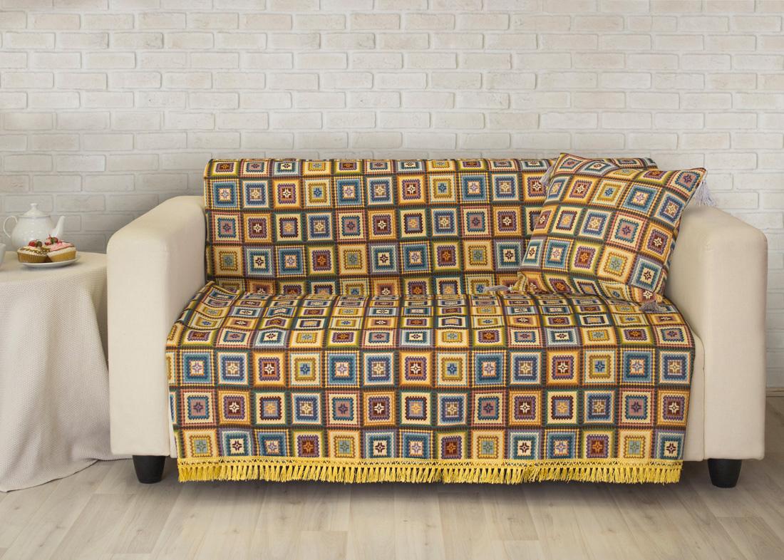 Пледы и покрывала Les Gobelins Накидка на диван Labyrinthe (150х200 см) покрывало les gobelins накидка на диван labyrinthe 160х230 см