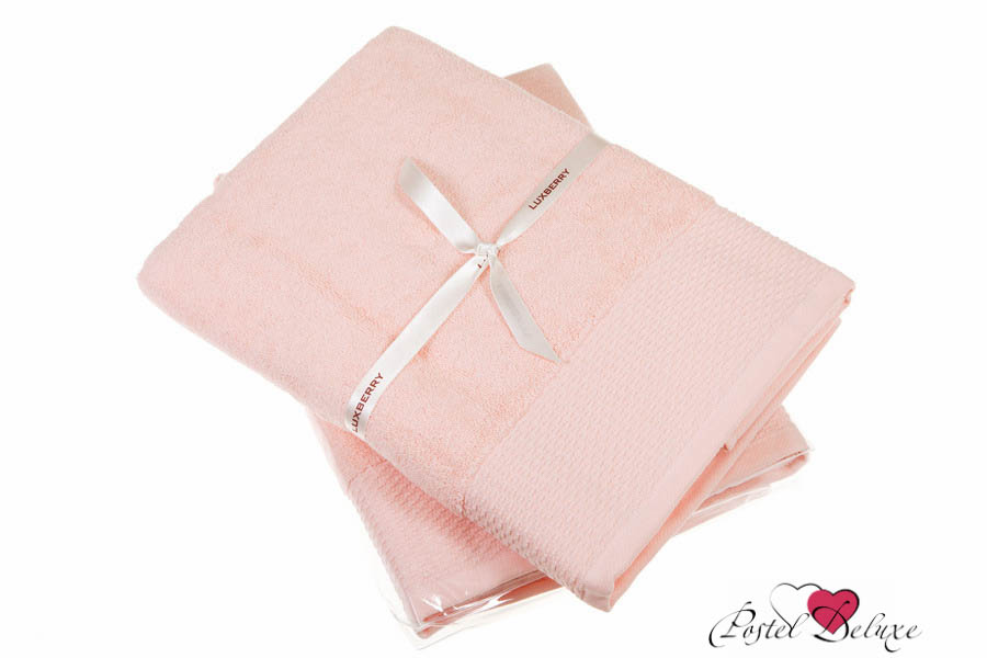 Купить Полотенца Luxberry, Полотенце Joy Цвет: Розовый (50х100 см), Португалия, Махра