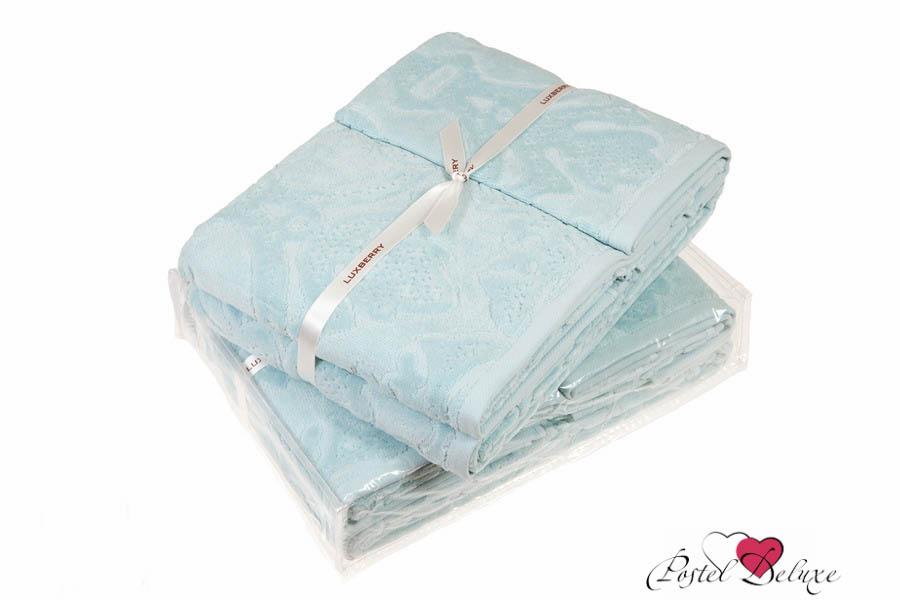 Купить Полотенца Luxberry, Полотенце Барокко Цвет: Лазурный (100х150 см), Португалия, Голубой, Махра
