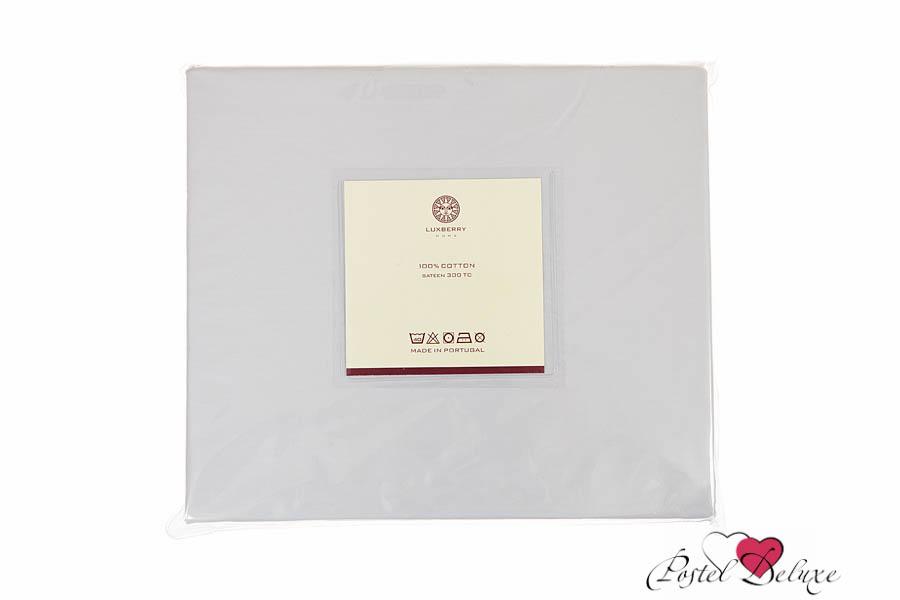 Купить Простыни Luxberry, Простыня на резинке Lallie Цвет: Серый-Жемчуг (160х200), Португалия, Хлопковый сатин