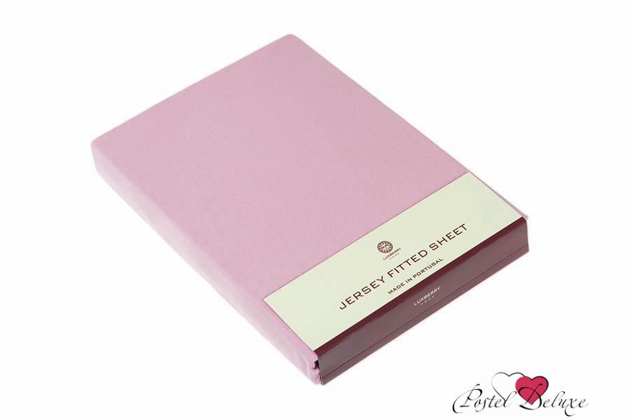 Простыни Luxberry Простыня на резинке Mordred Цвет: Розовый (90х200) детский комплект luxberry sweet life простыня без резинки