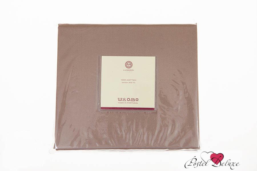 Простыни Luxberry Простыня Wood Цвет: Ореховый (240х280) детский комплект luxberry sweet life простыня без резинки
