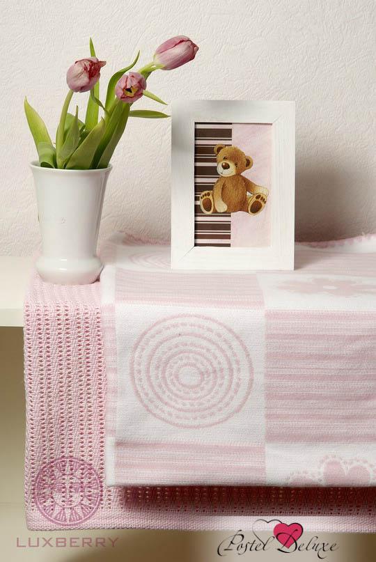Покрывала, подушки, одеяла для малышей Luxberry Детский плед Set Lux 2287 Цвет: Розовый-Белый (75х100 см - 2 шт) детский комплект luxberry sweet life простыня без резинки