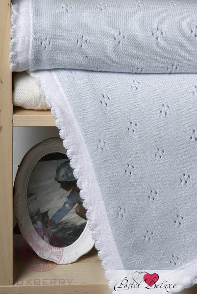 Купить Покрывала, подушки, одеяла для малышей Luxberry, Детский плед Imperio 149 Цвет: Голубой (100х150 см), Португалия, Вязаный хлопок