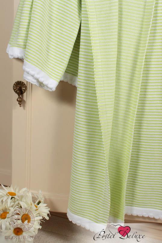 Купить Покрывала, подушки, одеяла для малышей Luxberry, Детский плед Imperio 207 Цвет: Зеленый-Белый (100х150 см), Португалия, Вязаный хлопок