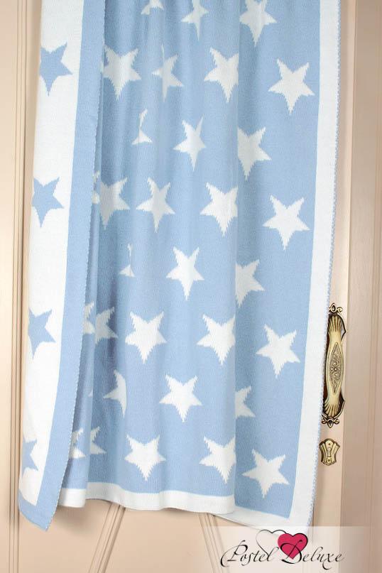 Купить Покрывала, подушки, одеяла для малышей Luxberry, Детский плед Imperio 254 Цвет: Голубой-Белый (100х150 см), Португалия, Вязаный хлопок