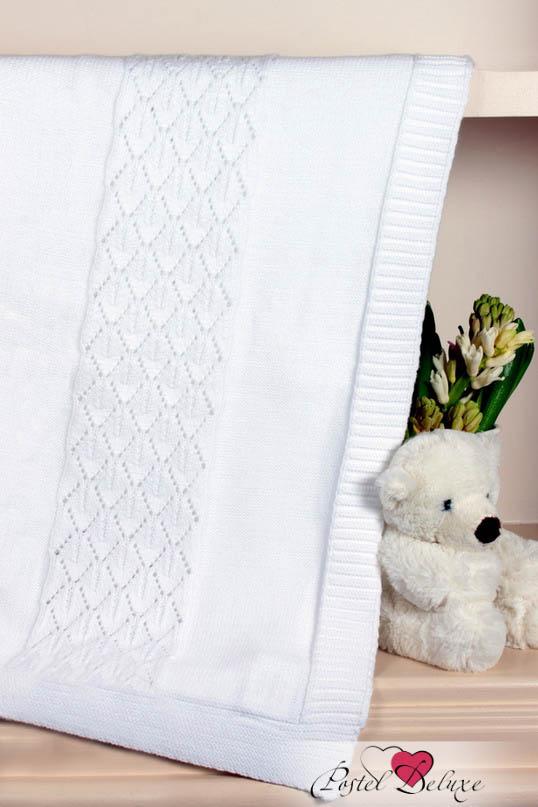 Купить Покрывала, подушки, одеяла для малышей Luxberry, Детский плед Imperio 283 Цвет: Белый (100х150 см), Португалия, Вязаный хлопок