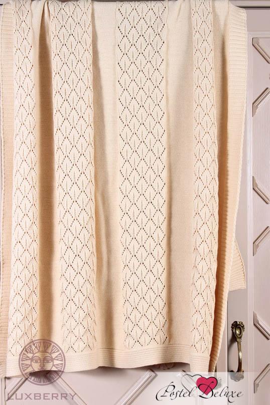 Купить Покрывала, подушки, одеяла для малышей Luxberry, Детский плед Imperio 283 Цвет: Кремовый (100х150 см), Португалия, Вязаный хлопок