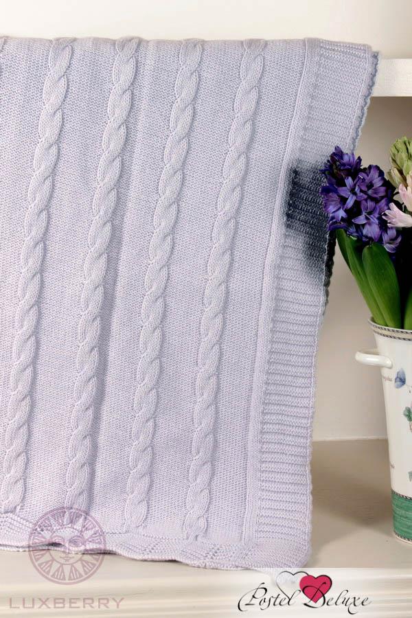 Купить Покрывала, подушки, одеяла для малышей Luxberry, Детский плед Imperio 93 Цвет: Лавандовый (100х150 см), Португалия, Сиреневый, Вязаный хлопок