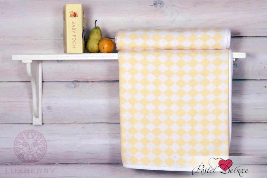 Покрывала, подушки, одеяла для малышей Luxberry Детский плед Lux 3313 Цвет: Желтый (100х150 см) детский комплект luxberry sweet life простыня без резинки