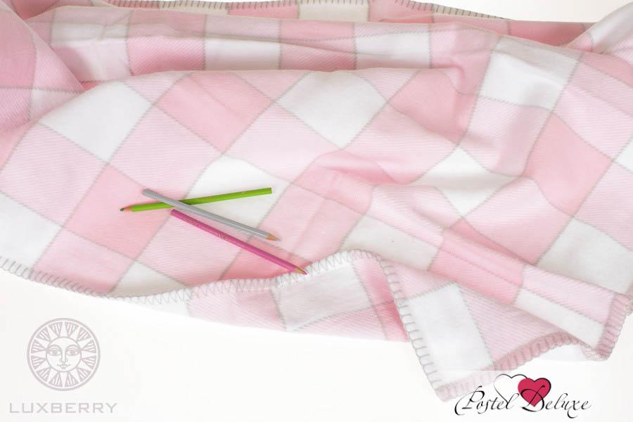 Покрывала, подушки, одеяла для малышей Luxberry Детский плед Vanessa Цвет: Розовый (100х150 см) детский комплект luxberry sweet life простыня без резинки
