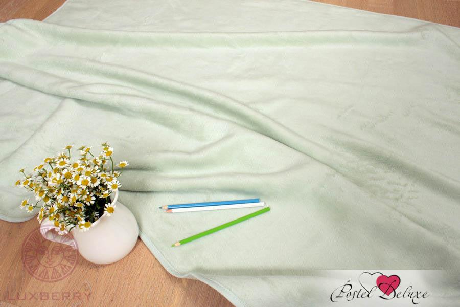 Покрывала, подушки, одеяла для малышей Luxberry Детский плед Бамбук 269 02 Цвет: Светло-Зеленый (100х140 см) одеяла папитто жаккардовое 100х140 шерсть