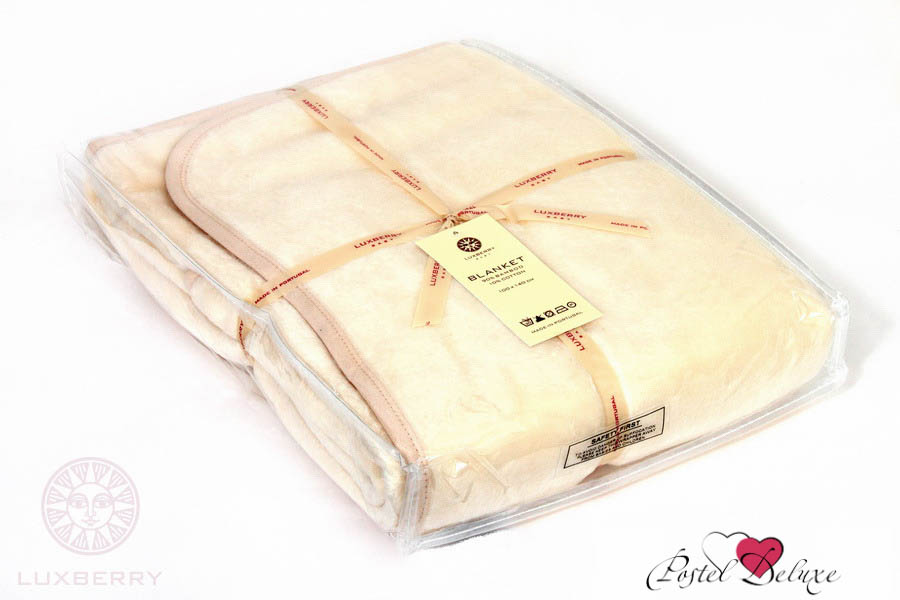 Купить Покрывала, подушки, одеяла для малышей Luxberry, Детский плед Кашемир 269 01 Цвет: Экрю (100х140 см), Португалия, Бежевый, Искусственный мех из кашемира