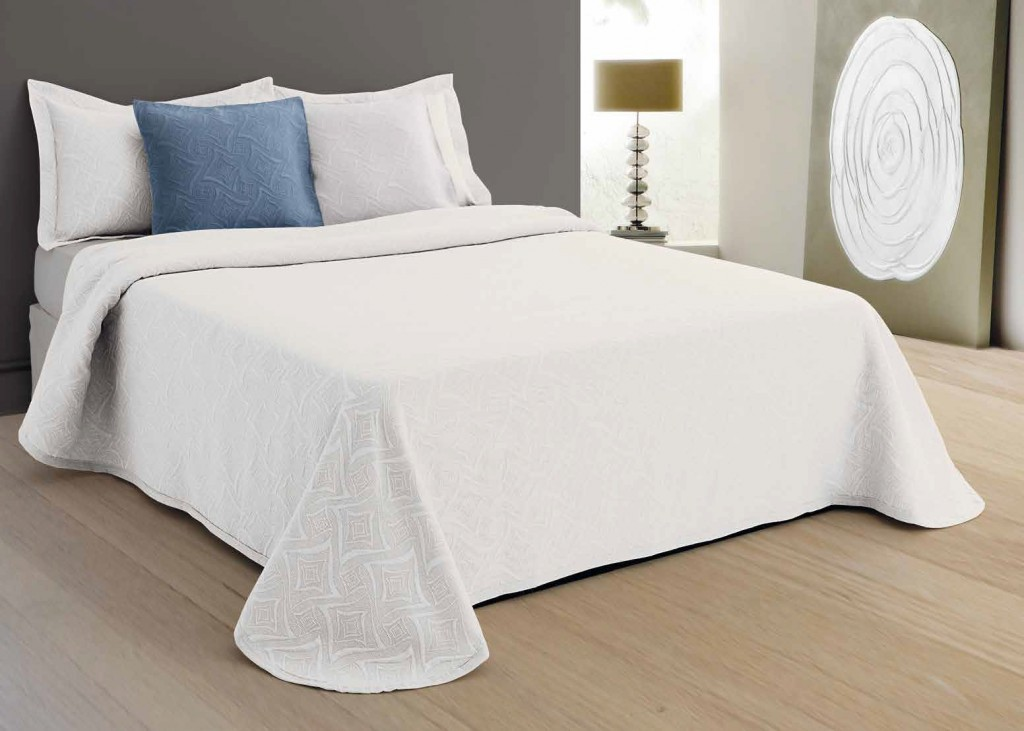 Покрывало Killeen Цвет: Белый (220х260 см)