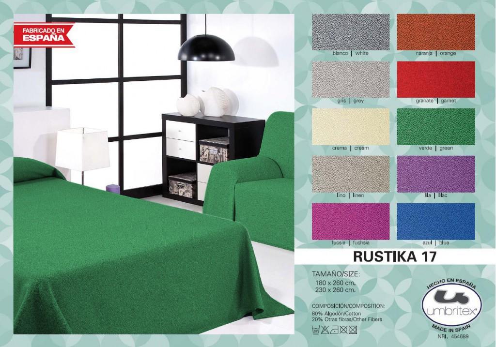 Купить Пледы и покрывала Umbritex, Покрывало Sparrow Цвет: Зеленый (230х260 см), Испания, Хлопковый жаккард