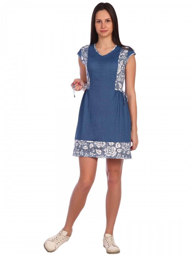 Платье Shawna Цвет: Джинсовый (46) фото