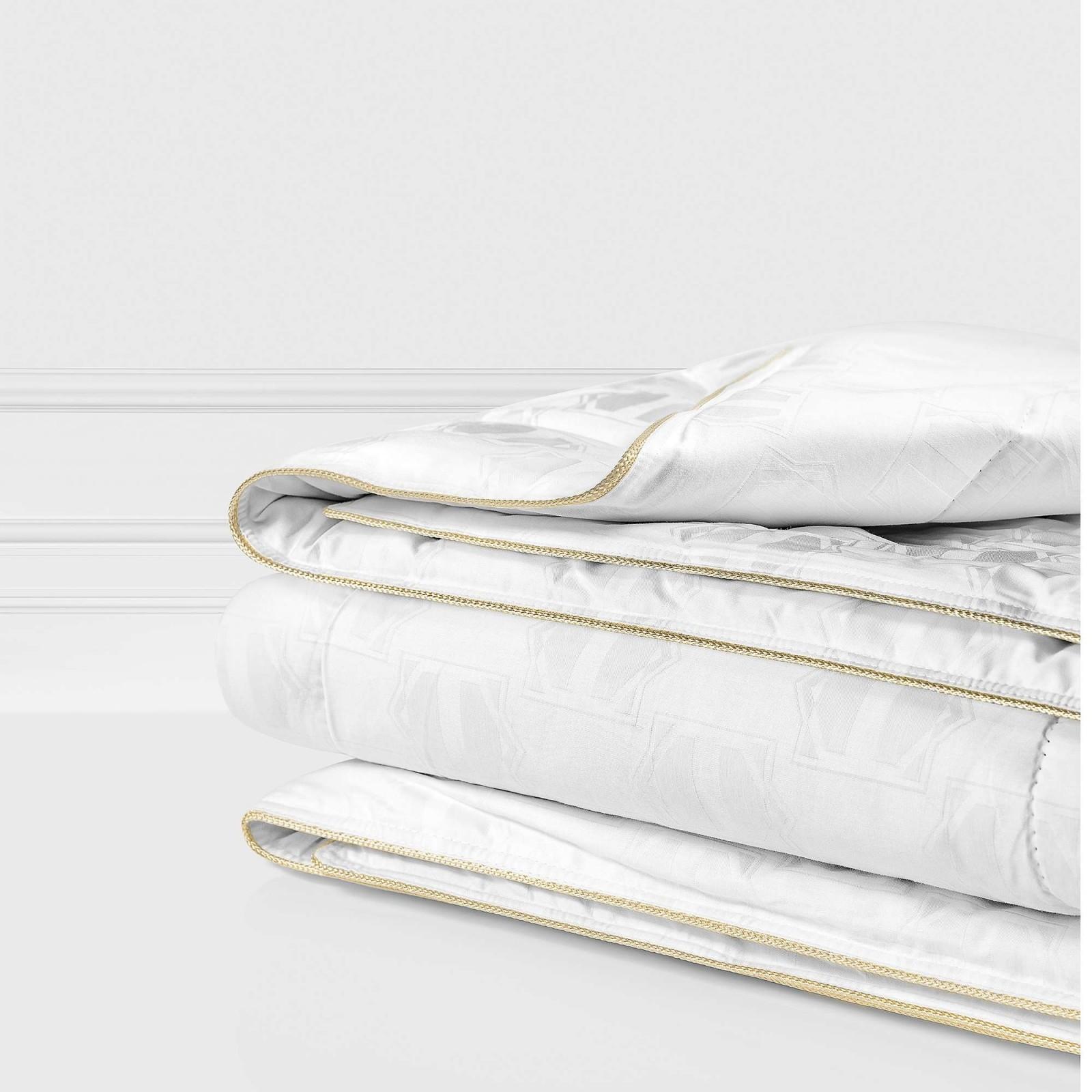 Купить Одеяла Togas, Одеяло Маэстро Всесезонное (200х210 см), Греция, Белый, Хлопковый жаккард