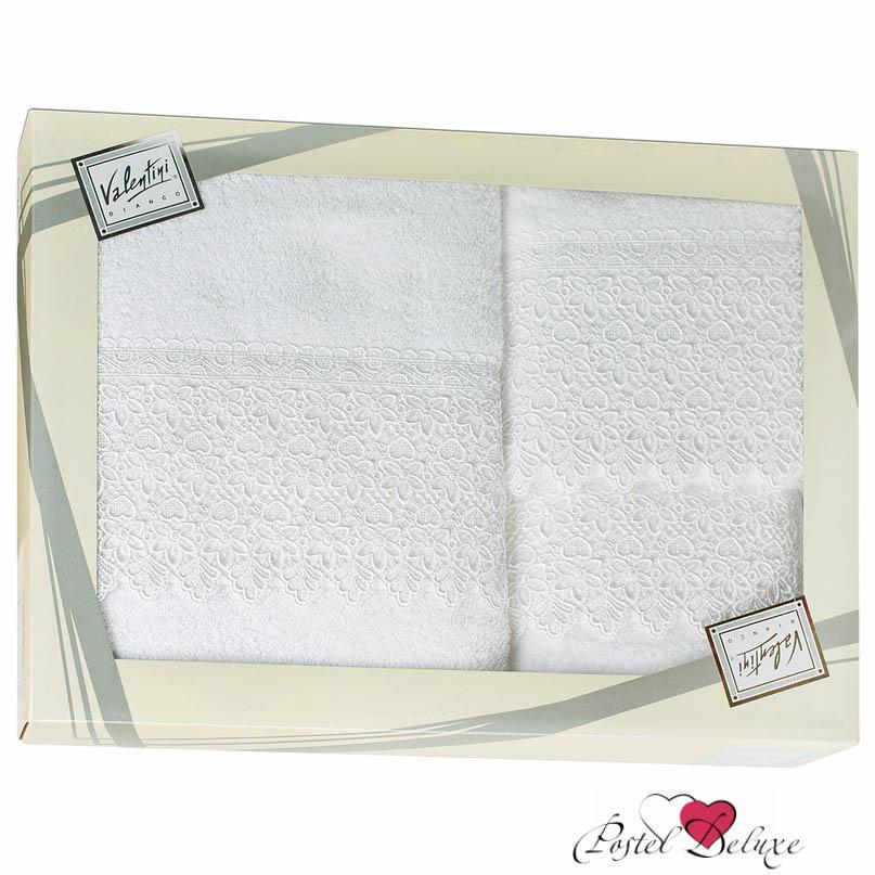 Купить Полотенца Valentini, Полотенце Makrame Цвет: Белый (Набор), Португалия, Махра