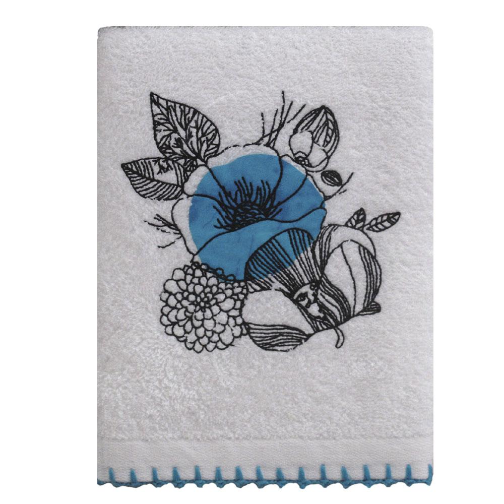 Кухонное полотенце Blair Цвет: Белый, Голубой (50х70 см)