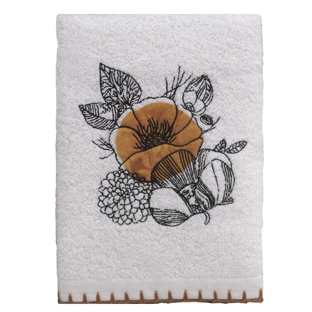 Кухонное полотенце Kerensa Цвет: Белый, Охра (50х70 см)