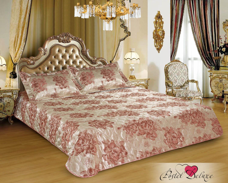 Купить Пледы и покрывала Marianna, Покрывало Selena (200х220 см), Россия, Персиковый, Розовый, Синтетический жаккард