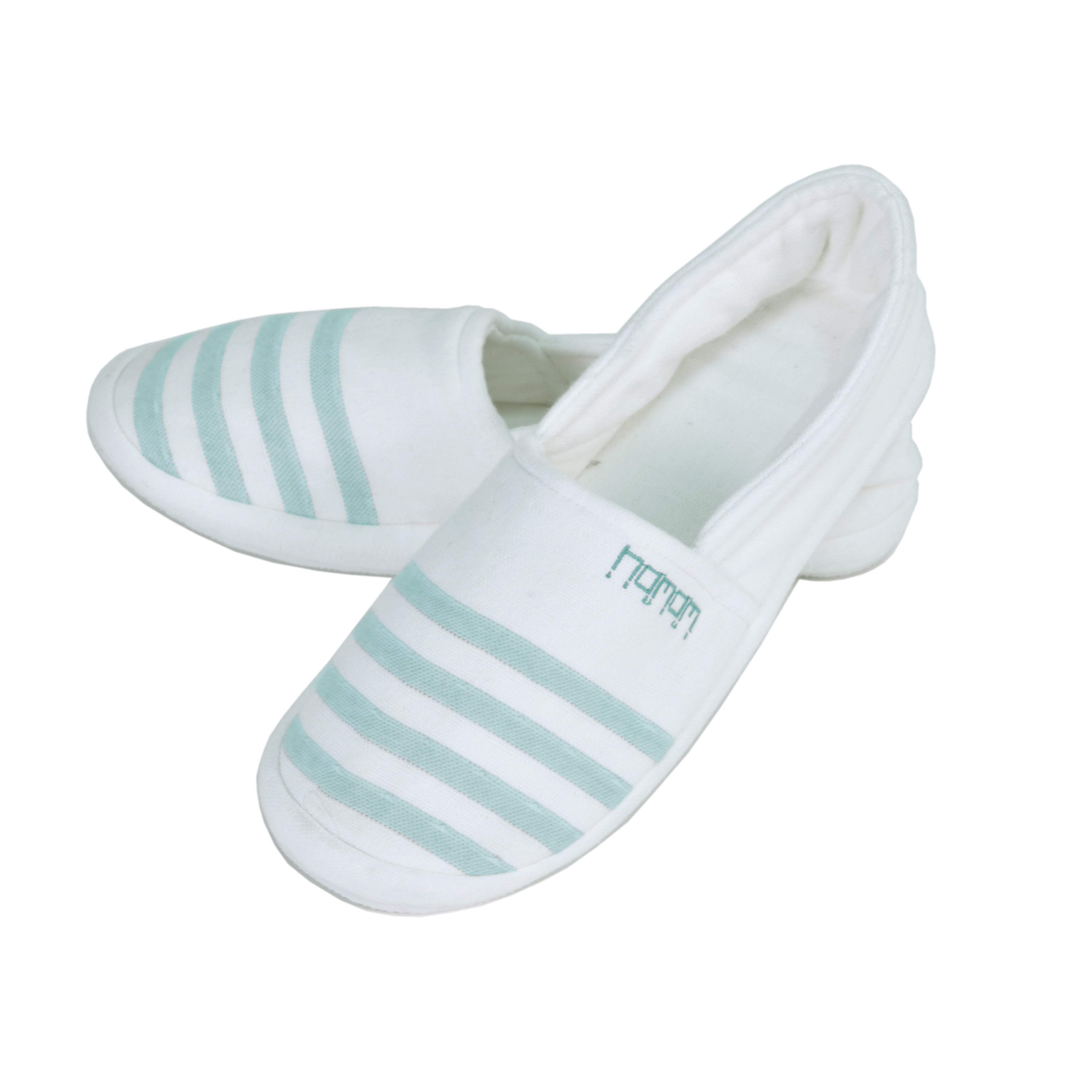 Тапочки Marine Цвет: Белый, Изумрудный (42-43) HAMAM ham436788