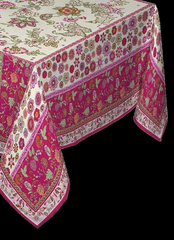 Купить Скатерти и салфетки Lencera, Скатерть Balzorine Цвет:Пурпурный(160х250 см), Испания, Белый, Бордовый, Розовый, Жаккард
