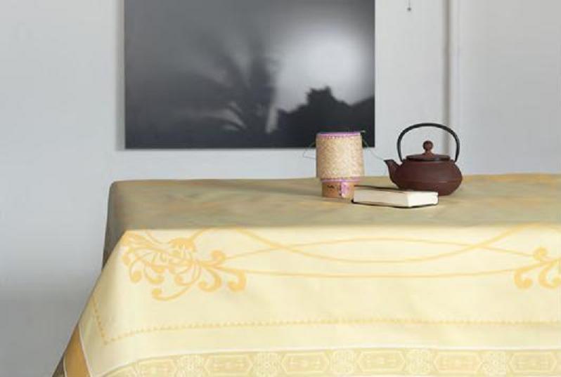 Купить Скатерти и салфетки Lencera, Скатерть Empire Цвет: Желтый (160х250 см), Испания, Жаккард