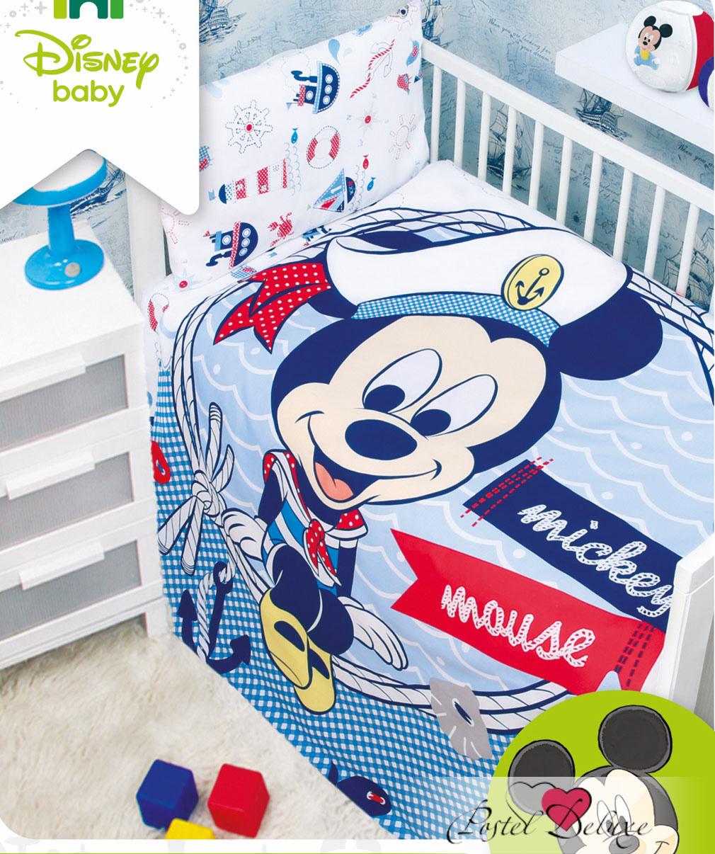 детское постельное белье Mona Liza   Микки Морячок (110х145 см)