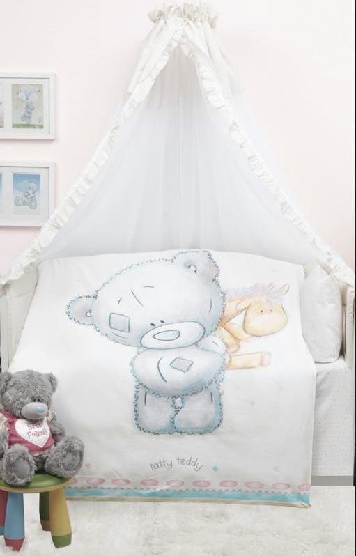 детское постельное белье Mona Liza   Teddy Baby (110х145 см)