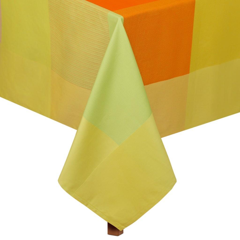 Купить Скатерти и салфетки Lencera, Скатерть Lidique Цвет: Лимонный (160х210 см), Испания, Жаккард