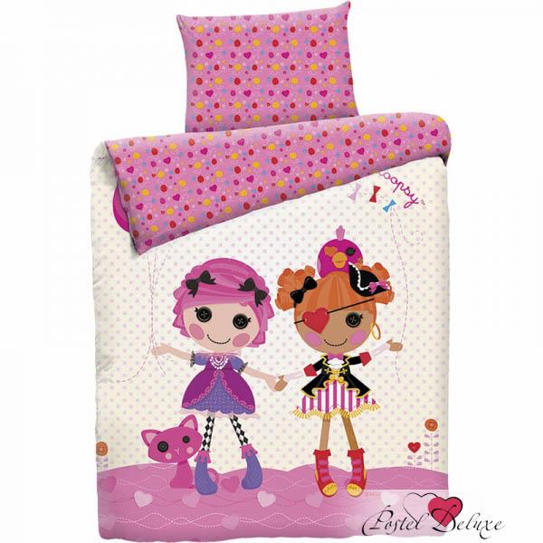 детское постельное белье Mona Liza Постельное белье Lalaloopsy Classic (145х210 см) цена