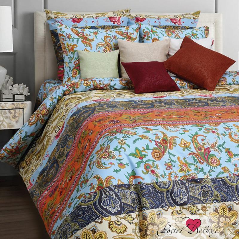 Купить Комплекты постельного белья Mona Liza, Постельное белье Viva (1, 5 спал.), Россия, Голубой, Оранжевый, Синий, Бязь