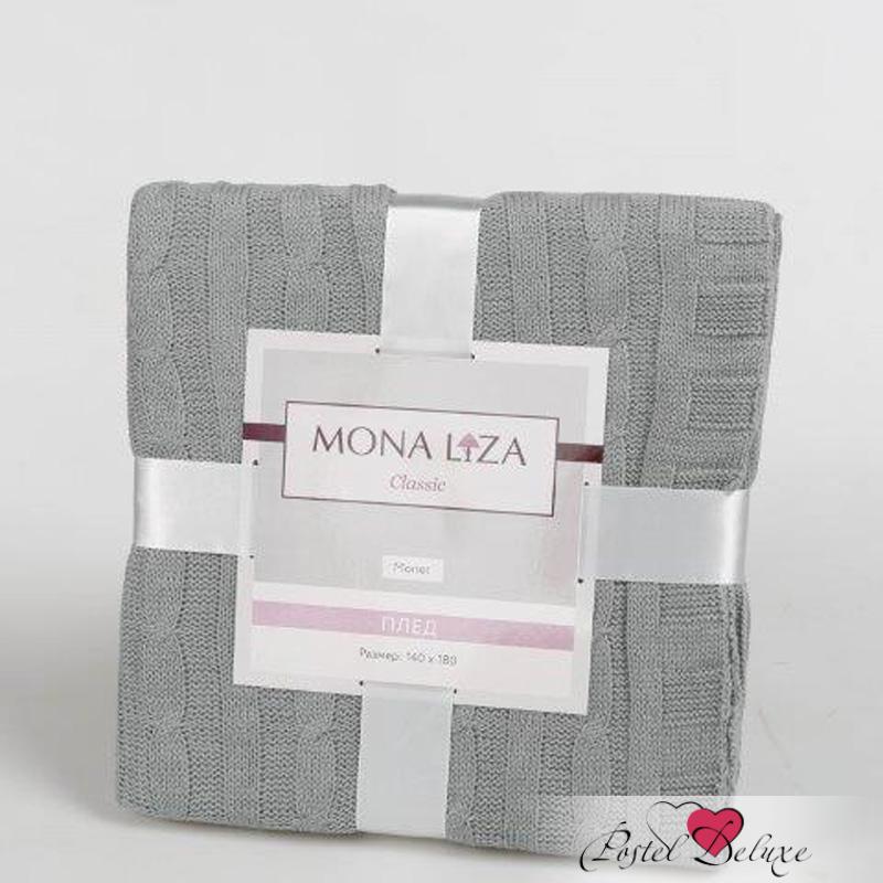 Пледы и покрывала Mona Liza Плед Monet Цвет: Серый (140х180 см) цена