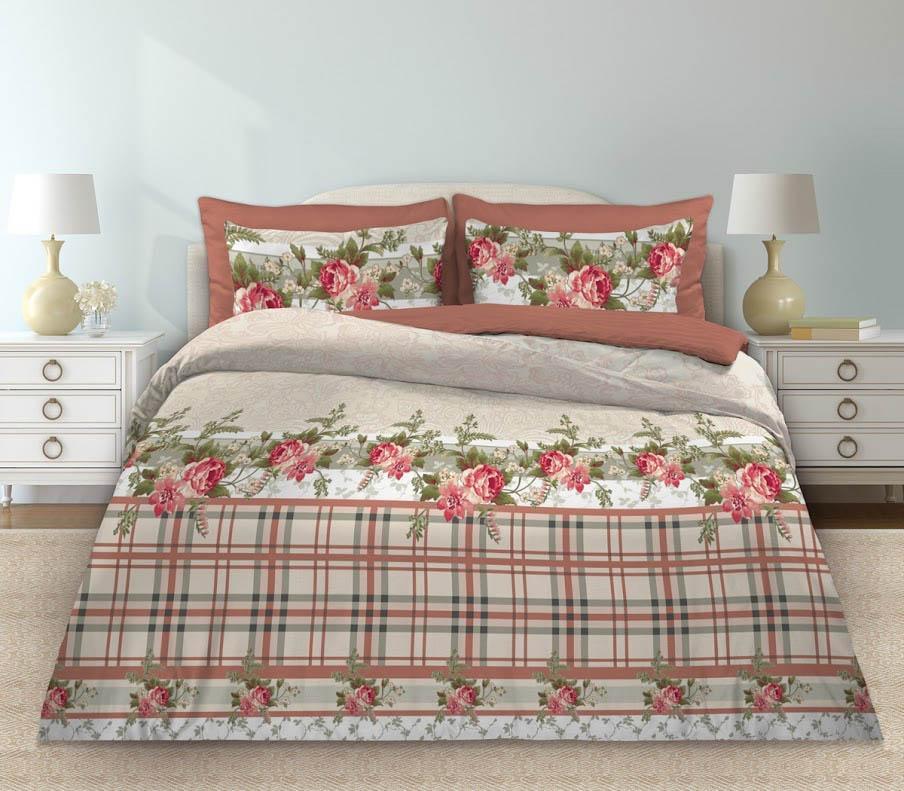 Комплекты постельного белья Любимый дом Постельное белье Моника (2 спал.) цена