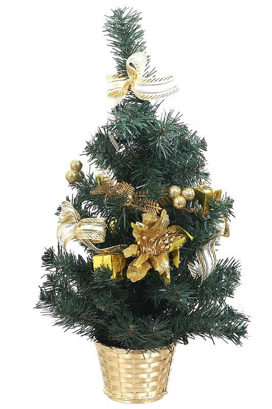 Искусственные растения Monte Christmas Ель новогодняя Lessie (45 см) ель royal christmas sonora hook on tree 180 см 942180