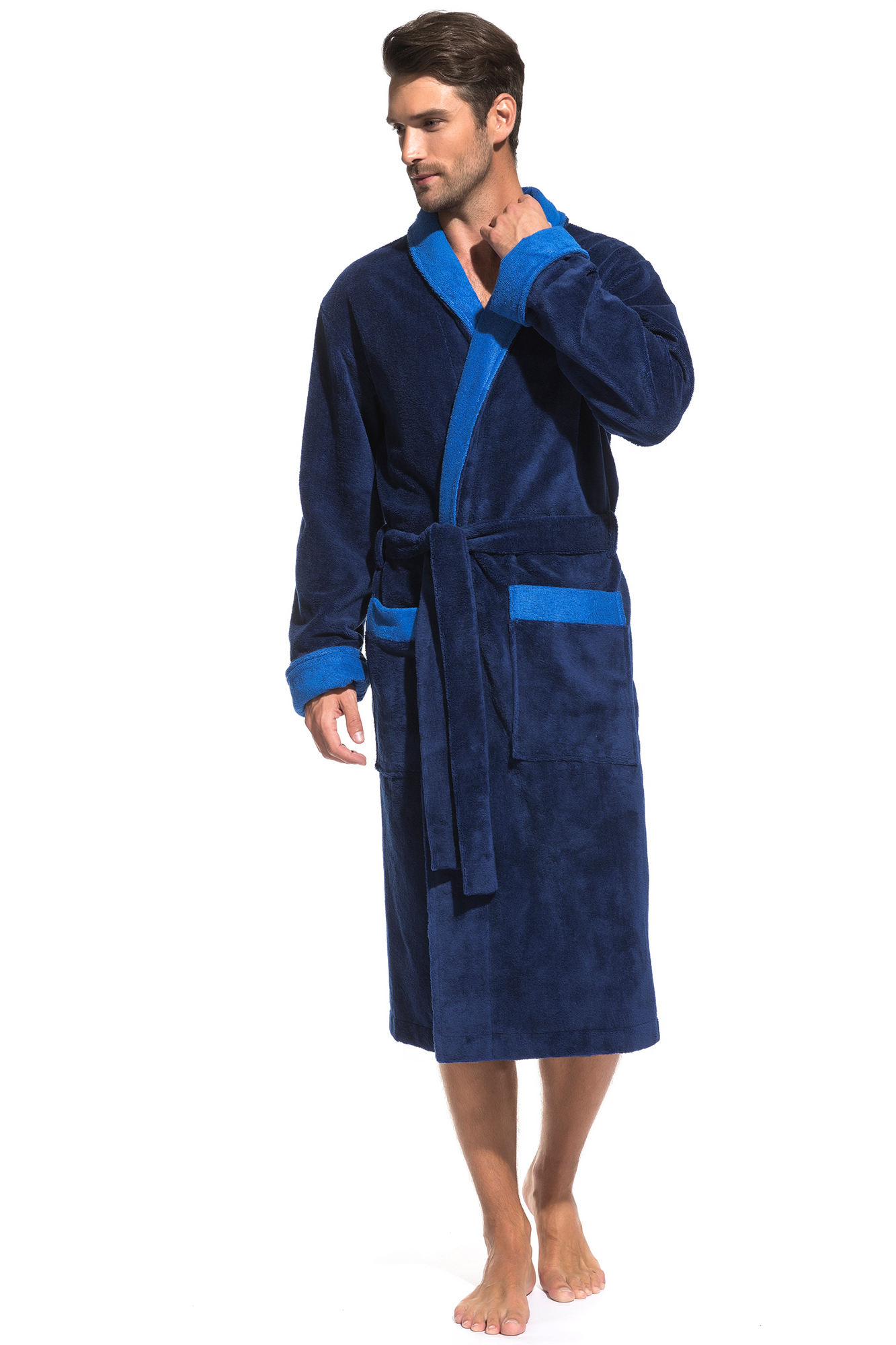 Домашний халат Zack Цвет: Ультрамарин (56-58) Peche Monnaie pmn665497