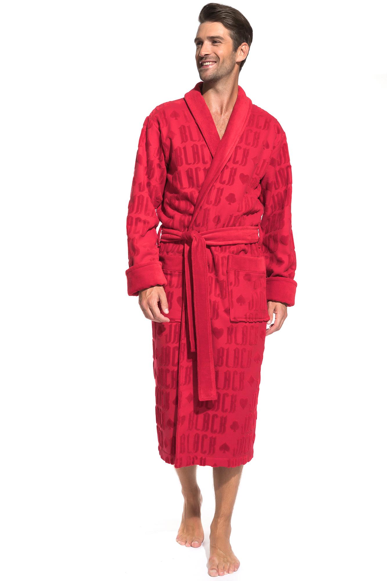 Домашний халат Black Jack Цвет: Красный (50-52) Peche Monnaie pmn665415
