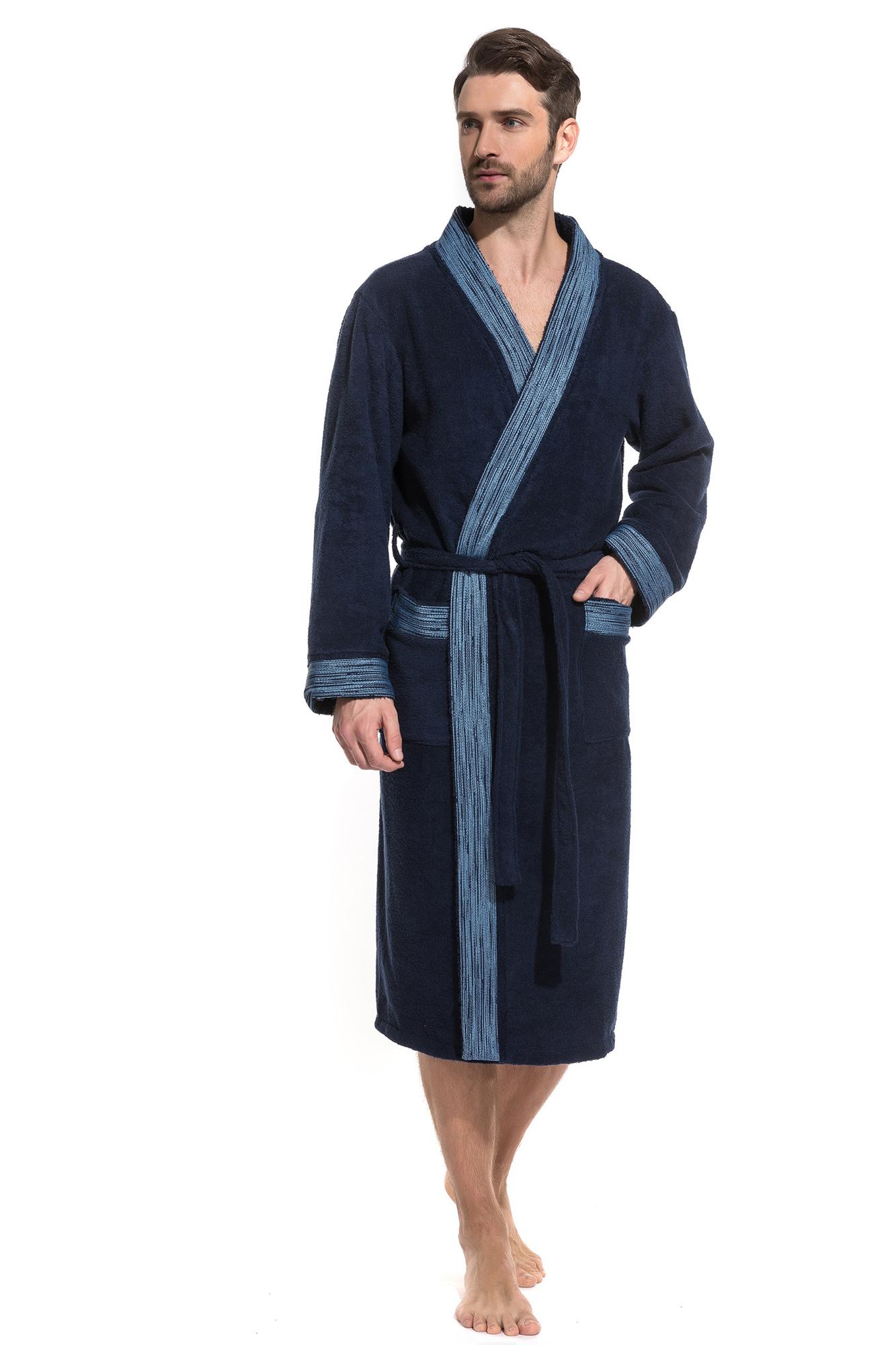 Домашний халат Galahad Цвет: Темно-Синий (50-52) Peche Monnaie pmn665375