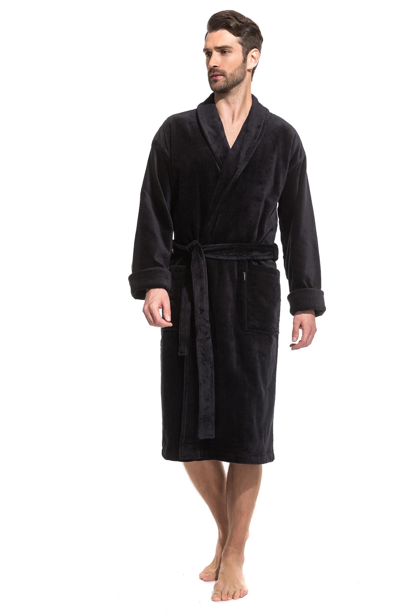 Домашний халат Eleanor Цвет: Черный (52-54) Peche Monnaie pmn665505