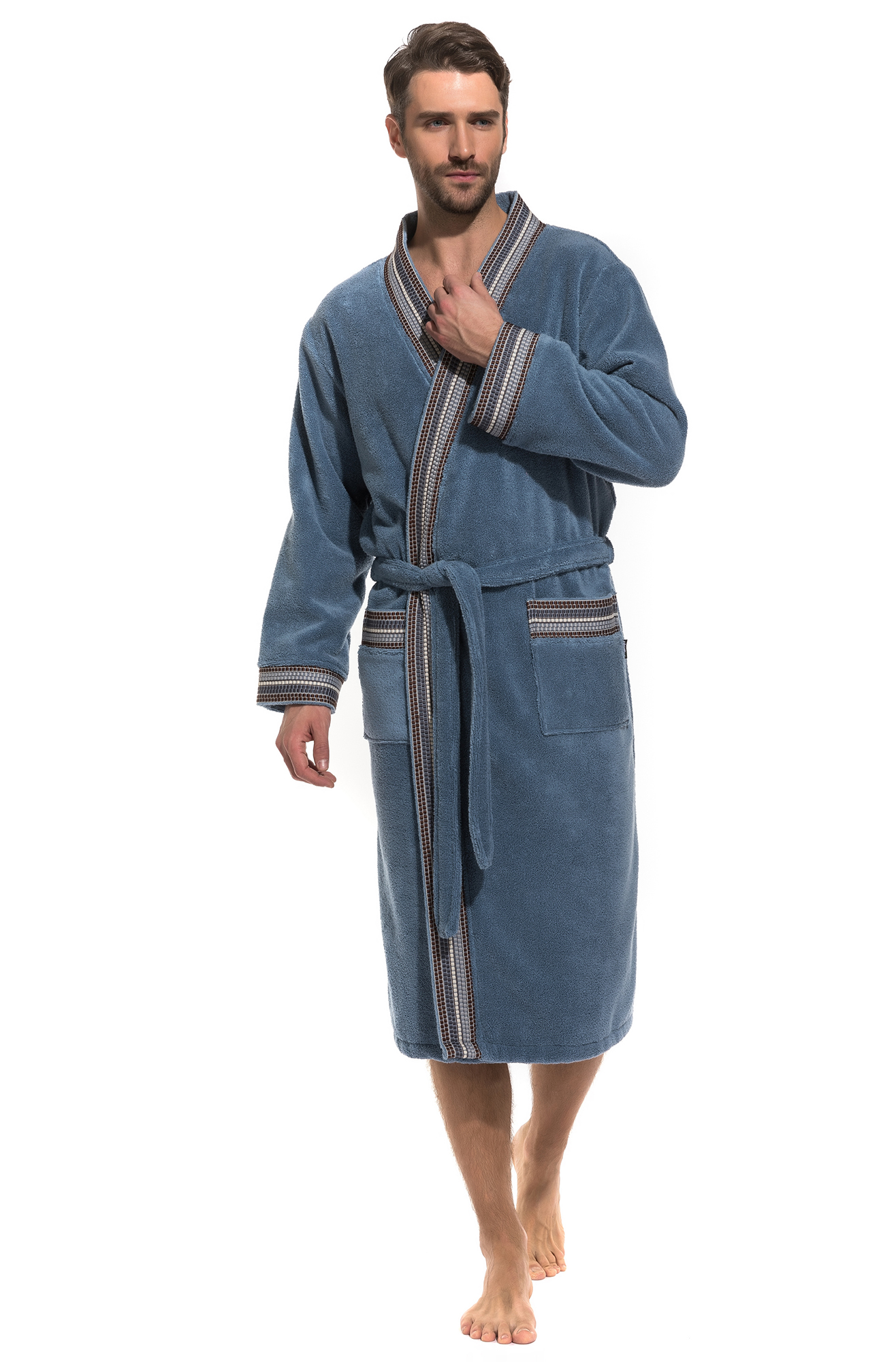 Домашний халат Jesca Цвет: Джинс (46-48) Peche Monnaie pmn665363