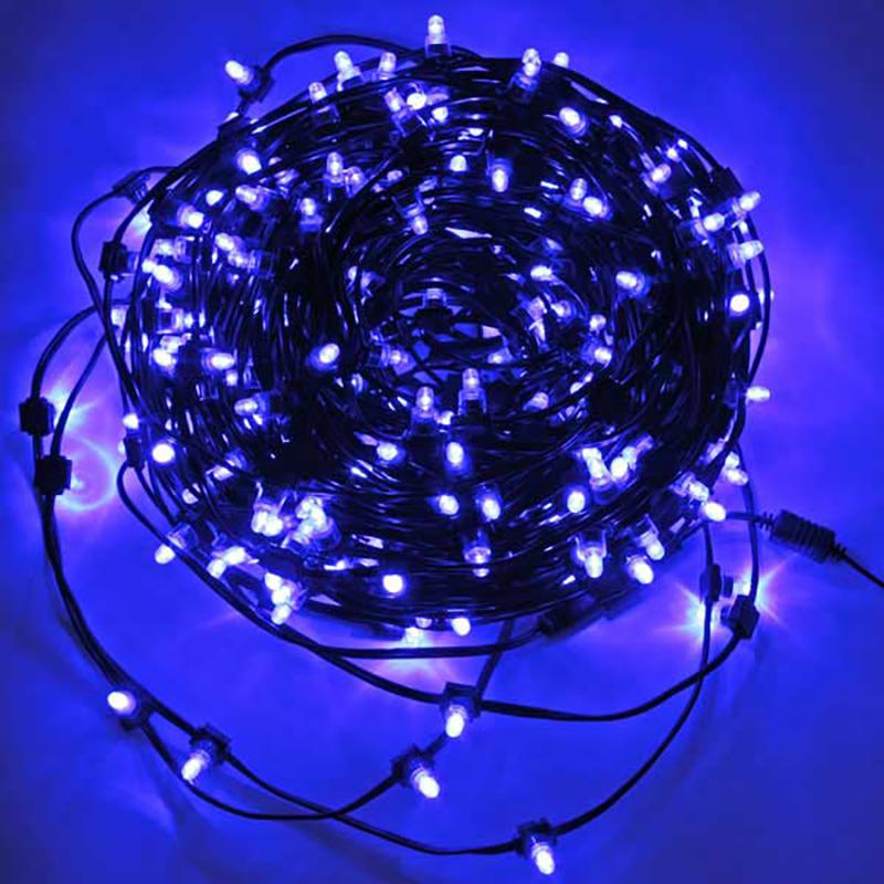 Гирлянда электрическая уличная Цвет: Синий (5000 см) фото