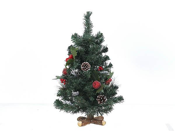 Искусственные растения Monte Christmas Ель новогодняя Farley (50 см) ель royal christmas sonora hook on tree 180 см 942180