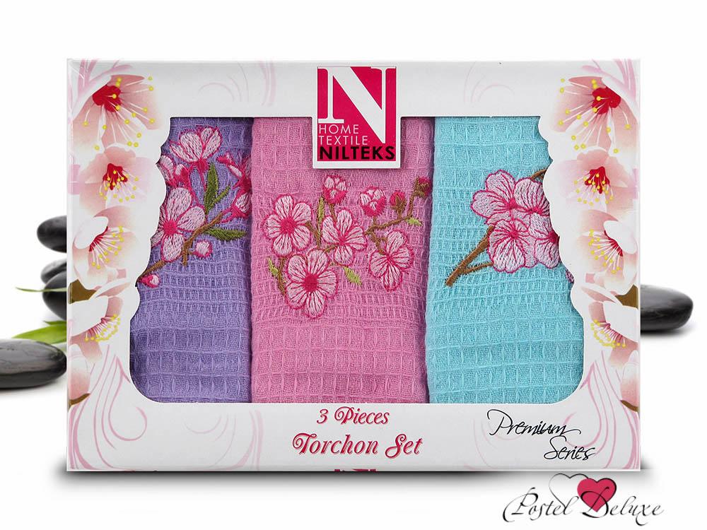 Купить Полотенца Nilteks, Кухонное полотенце Stacy (50х70 см - 3 шт), Турция, Вафля