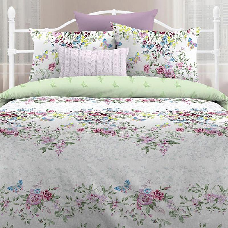 Комплекты постельного белья Любимый дом Постельное белье Лаура (2 спал.) цена