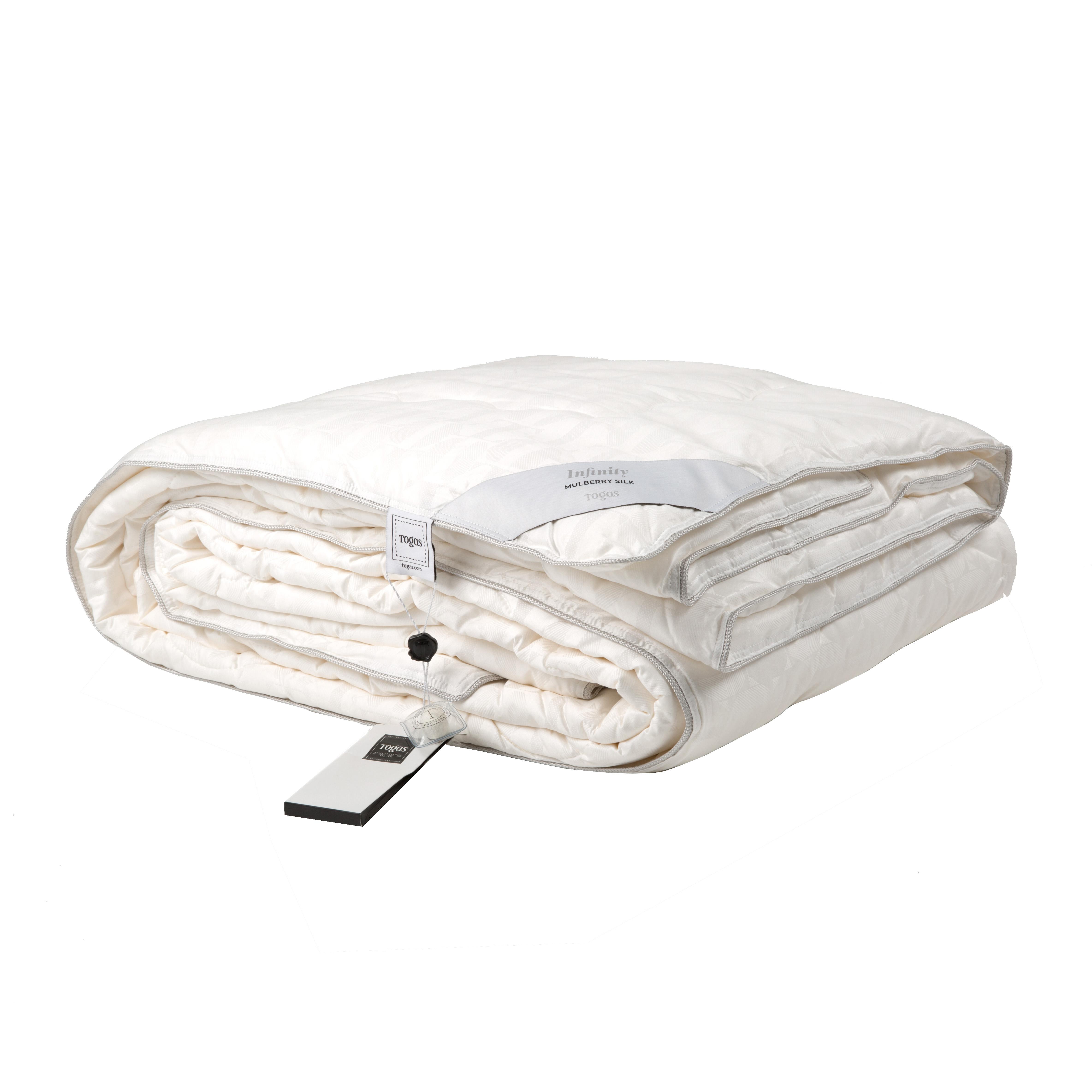 Купить Одеяла Togas, Одеяло Инфинити (200х210 см), Греция, Белый, Шелковый жаккард