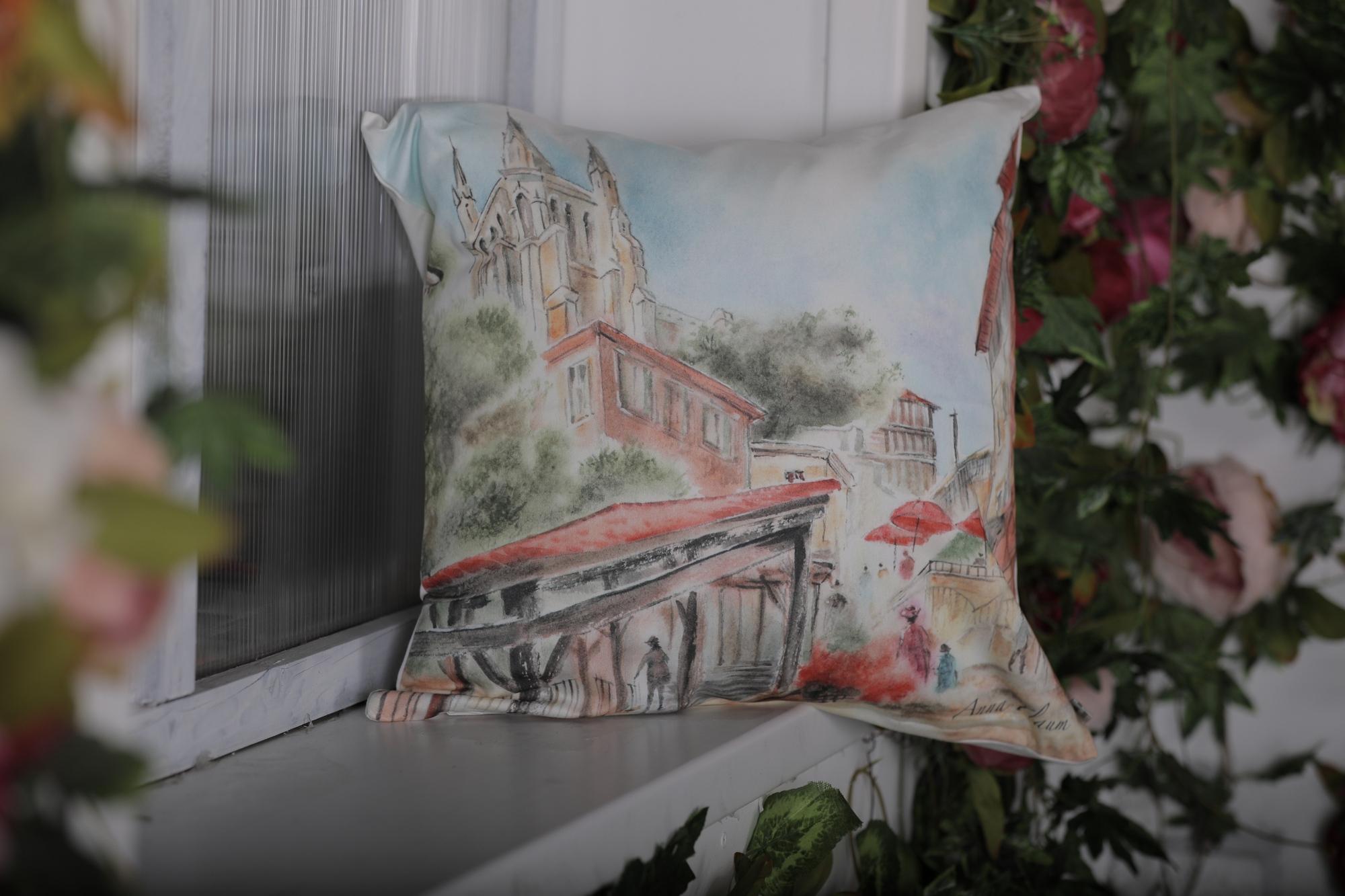 Декоративная подушка Old Europe-2 (45х45)